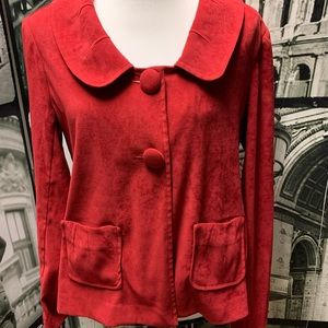 Cato Red blazer jacket